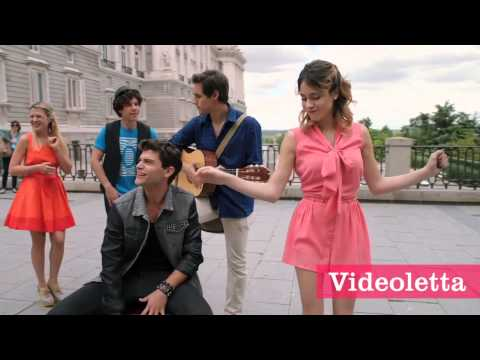 Violetta 2 English - Guys sing in Madrid (