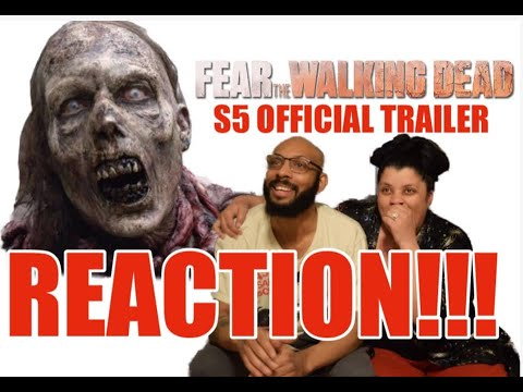 "Fear The Walking Dead ""We Are Coming for You"" Season 5 Official Trailer - REACTION!!!"