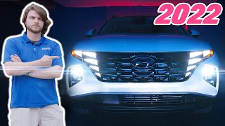 2022 Hyundai Tucson Hybrid - Review - Coolest Tail Lights EVER!