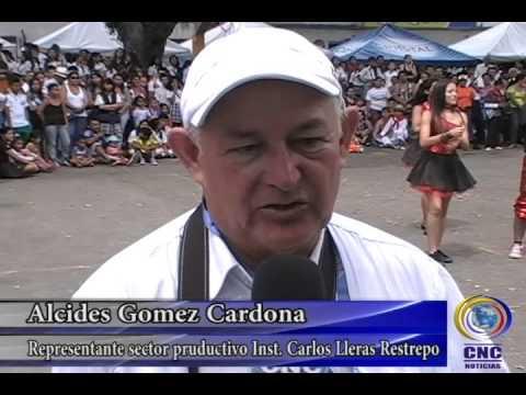 EXPO EMPRENDIMIENTO JUVENIL 2013 INSTITUTO CARLOS LLERAS RESTREPO