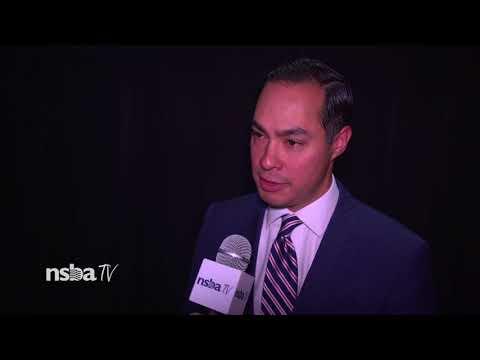 Julián Castro Speaks at NSBA!
