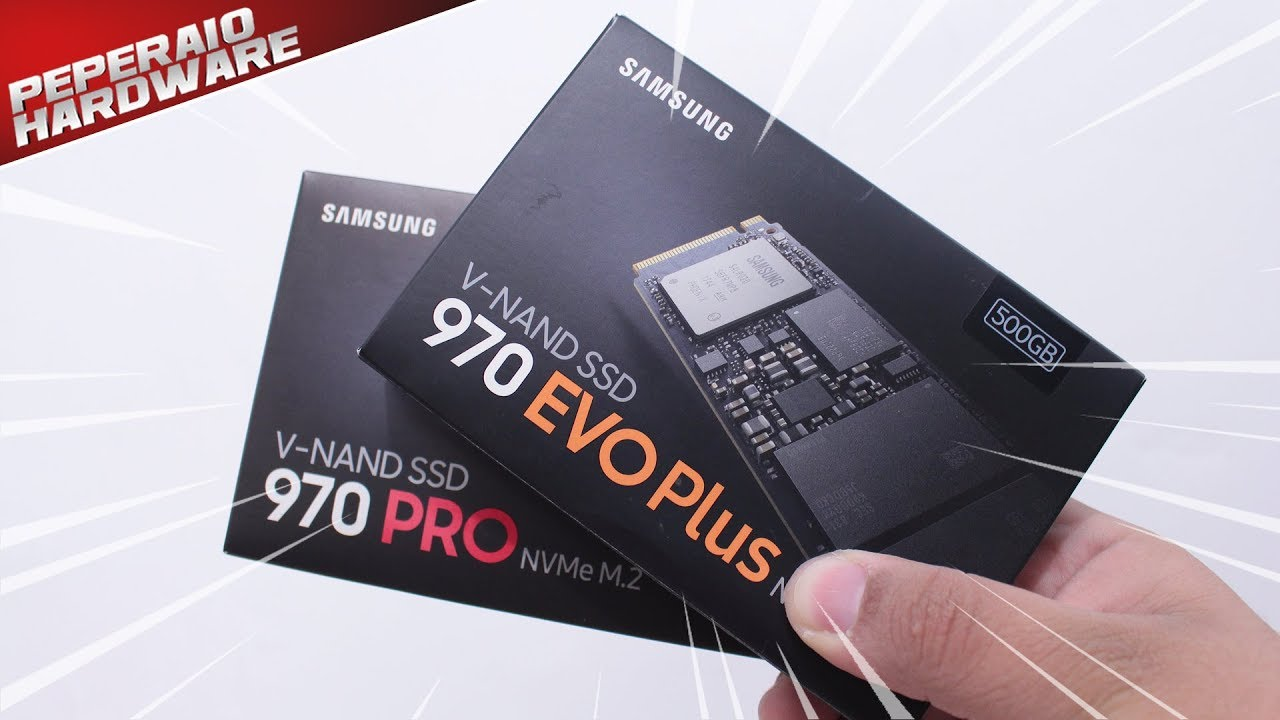 Review Samsung 970 Evo Plus 500GB & Samsung 970 Pro 512GB – O suprassumo dos SSDs NVMe PCIe 3.0