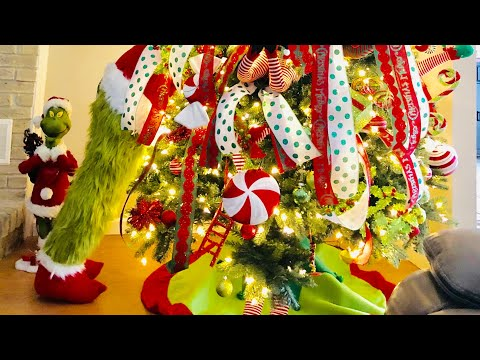 Christmas Home Holiday Decor Tour! Don't Be A GRINCH this season!