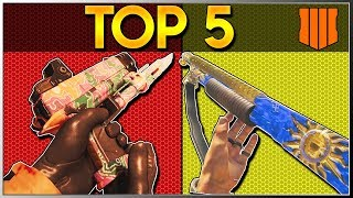 TOP 5 BEST BO4 ZOMBIES WALL WEAPONS - Call of Duty Zombies