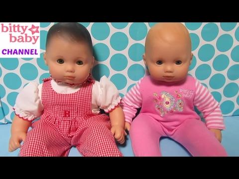 American Girl BITTY BABY Dolls  Bella And Paisley Go To American Girl Hospital By Bitty Baby Channel