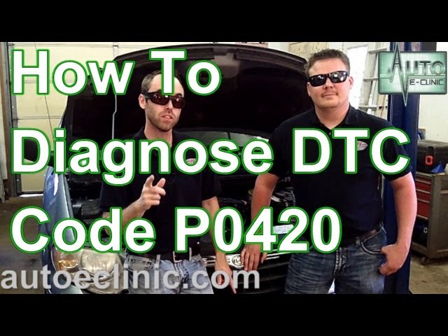 How To Diagnose A Check Engine Light Code P0420 Catalyst Bank 1