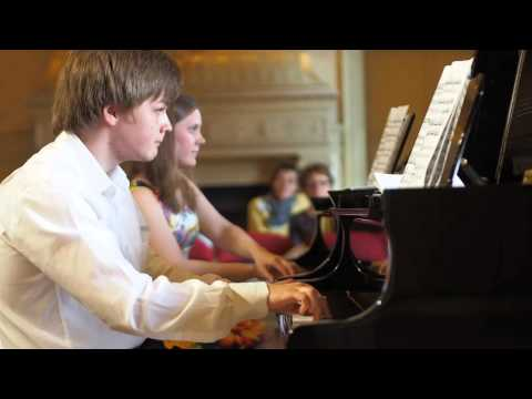 Polina Rendak & Mikhail Dubov Jr. at the