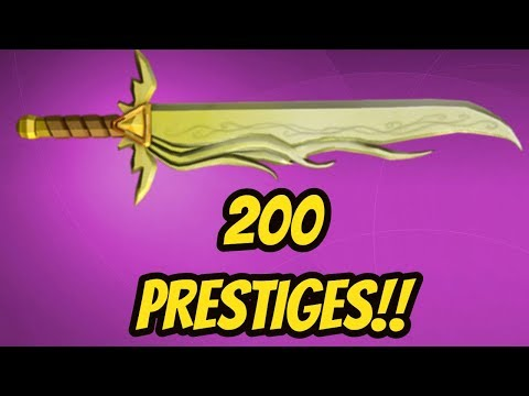 REACHING PRESTIGE 200!!! (ROBLOX ASSASSIN)