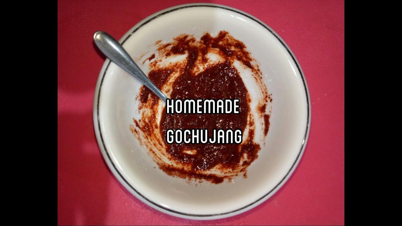 Cara Membuat Gochujang Saus Dasar Untuk Tteokbokki Cabe Saos Korea Korean Chili Paste