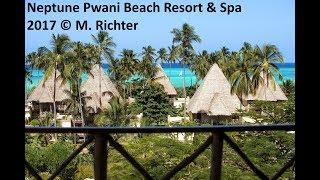 4K / Neptune Pwani Beach Resort & Spa / Juni 2017 / Hotelrundgang