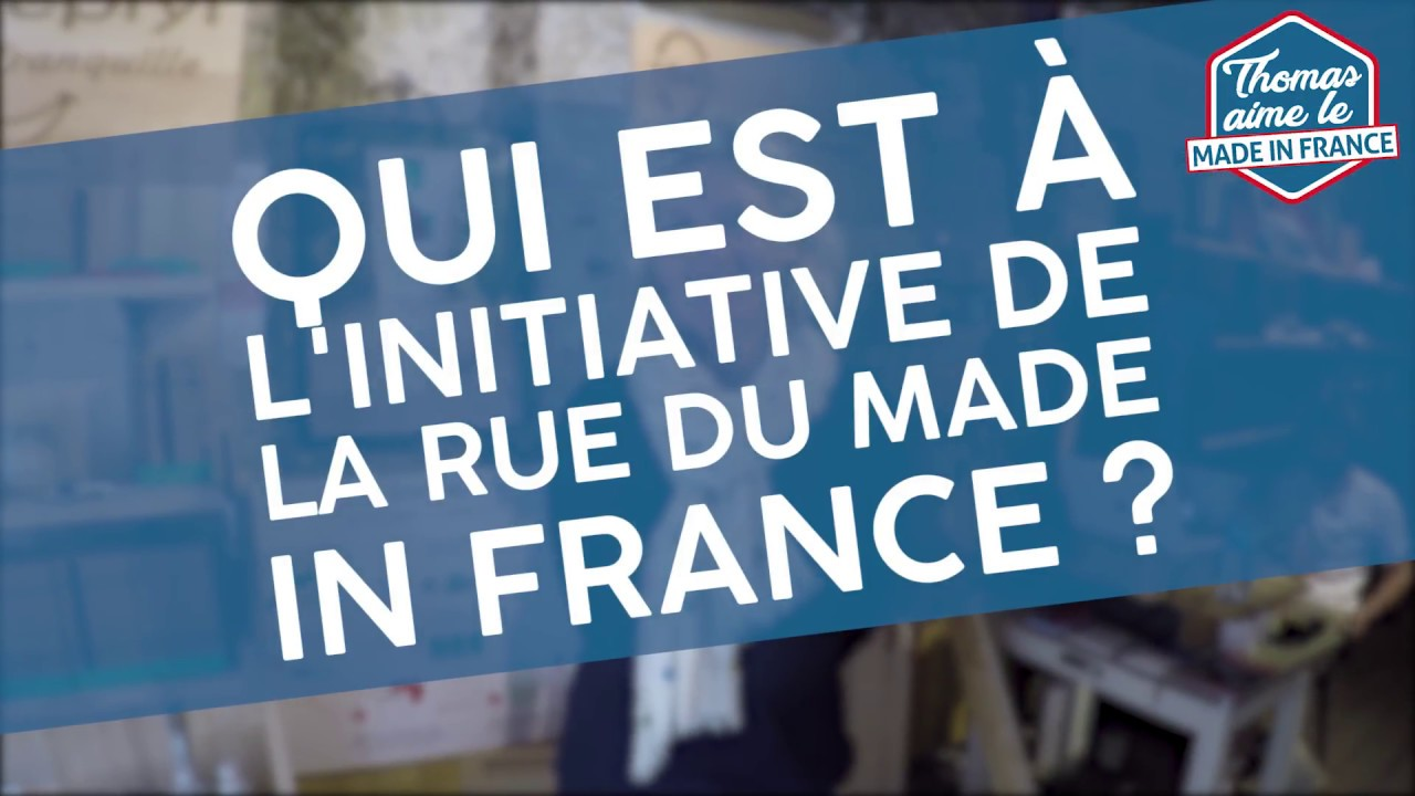 reportage - la rue du made in france / paris - youtube