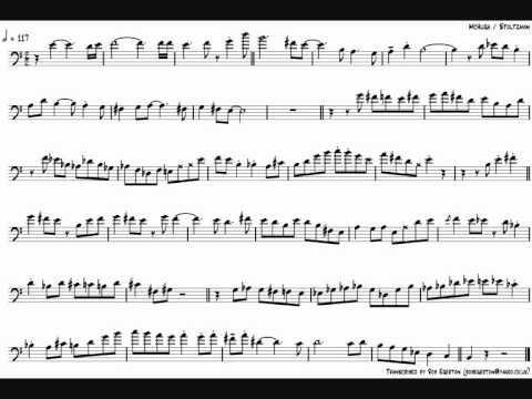 Elliot Mason 'Wherever You Are' Bass Trumpet Solo Transcription