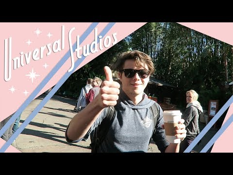Universal Studios Orlando Vlog | Feat: Josh Solomon | January 2018 | Adam Hattan