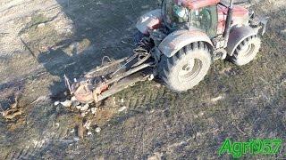 case ih puma 210 rotor stumper removing stumps in italy 2015