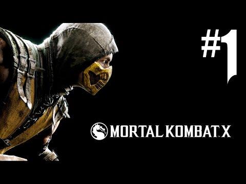 Mortal Kombat X - Playthrough #1 [FR]