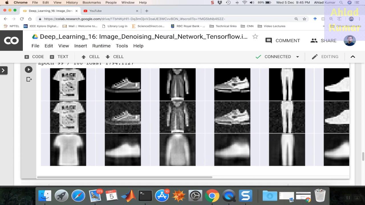 DL_16: Image denoising (Fashion dataset) using Neural Network (Auto  Encoders)