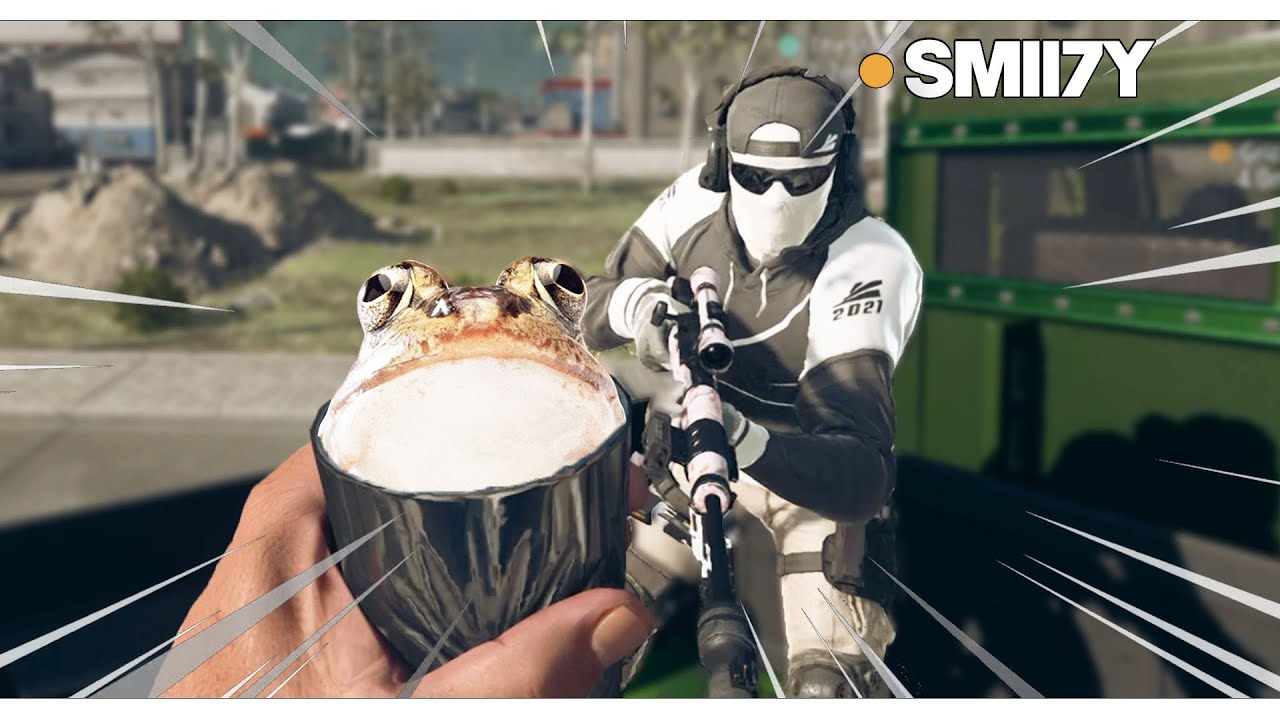 Warzone But SMII7Y and I Just MAKE FROG JOKES