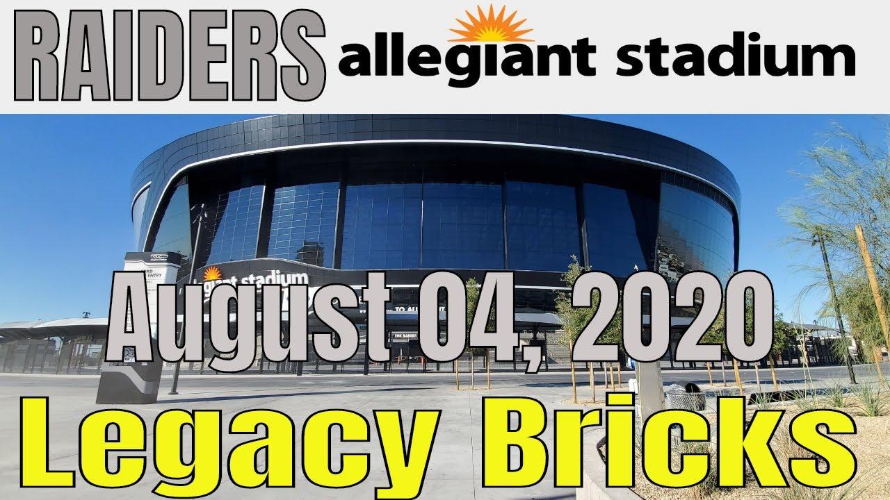 Las Vegas Raiders Allegiant Stadium Update 08 04 2020