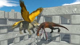 TRICERATOPS with Wings Animal Revolt Battle Simulator