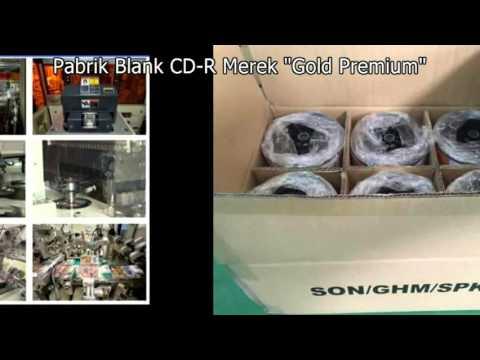 Pabrik Blank CDR Merek Gold Premium #Kualitas No.1 #CD-R Kosong#