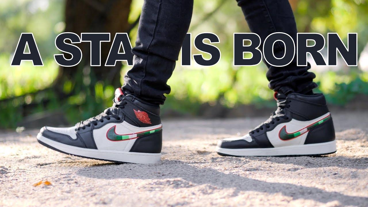 Jordan 1 A Star is Born   On Foot   4K