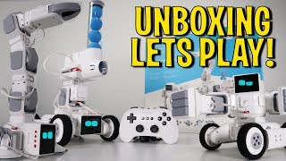 UNBOXING & LETS PLAY! - Motionblock - 10 in 1 Modular Robotic Kit! Cozmo like!