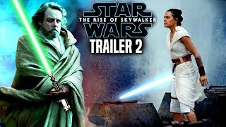 Star Wars The Rise Of Skywalker Trailer 2! Exciting News Revealed (Star Wars Episode 9 Trailer)