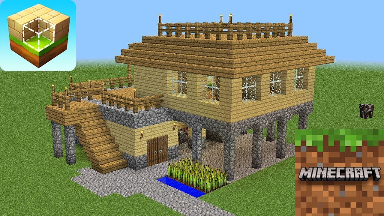 And Crafting Minecraft Building