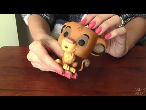 ASMR * Tapping & Scratching * Theme: Pop! Figurines * Fast Tapping * No Talking * ASMRVilla