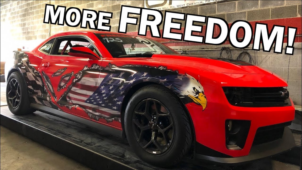 The Freedom Rocket Zl1 Gets A Fully Built Transmission