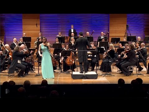 SPOHR Violin Competition: Anne Luisa Kramb performs Bruch's Violin Concerto No. 1 in G-Minor