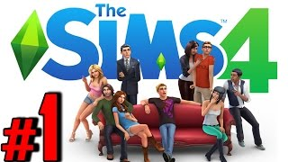 The Sims 4 Gameplay Walkthrough HD - Character Creation & Intro - Part 1 [PC No Commentary]