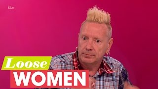 John Lydon Talks About Living Life As A Rebel | Loose Women