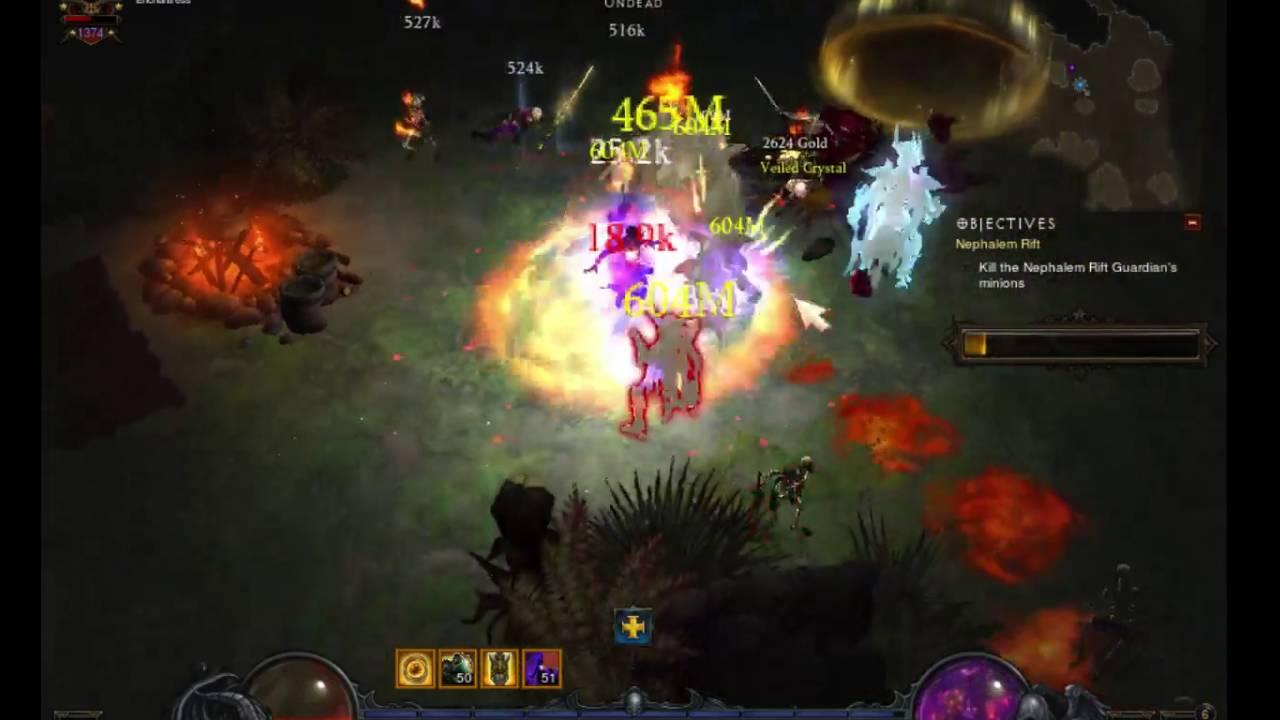 Diablo III: Wizard Firebird Archon GR100+ Build Follow-up