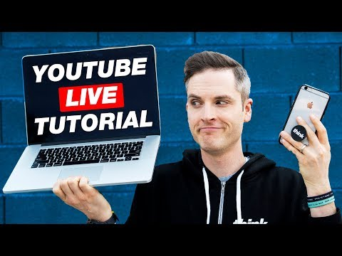 How To Go LIVE On YouTube With A Computer Or Smartphone — 4 Ways