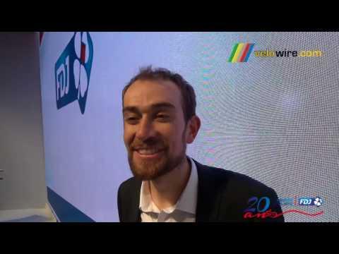 Interview Jérémy Roy à l'occasion des 20 ans de l'équipe cycliste FDJ