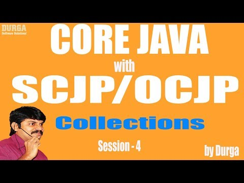 Core Java With OCJP/SCJP: Collections Part-4 || Array list