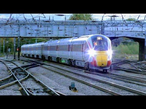 Sunset Trains at Doncaster, ECML | 25/10/18 (Incl: Class 800 LNER Azuma)