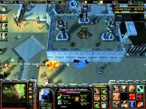 Warcraft 3 LOTR Fail Video  YouTube