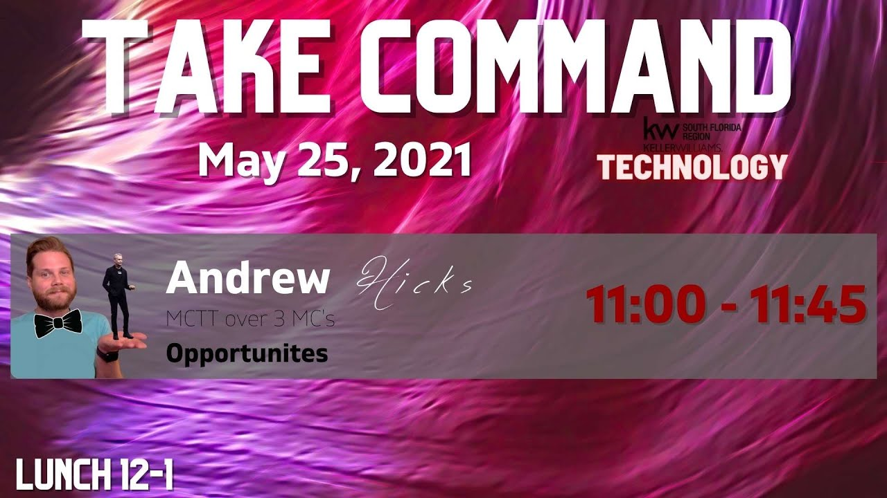 May: Take Command - Opportunities