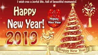 Happy New Year GIF 2019 New Year Animated Greeting Cards New Year Wishes Messages 2019 Apps