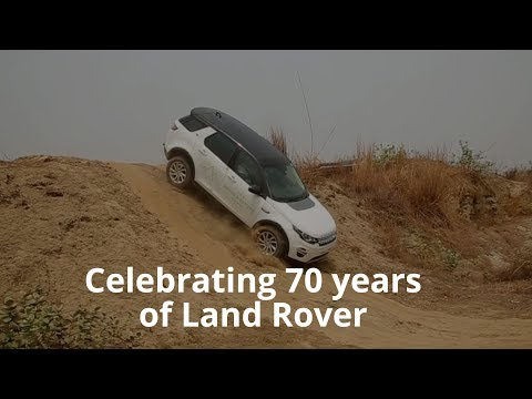 Land Rover Discovery Sport off roading reviewCelebrating 70 years in style
