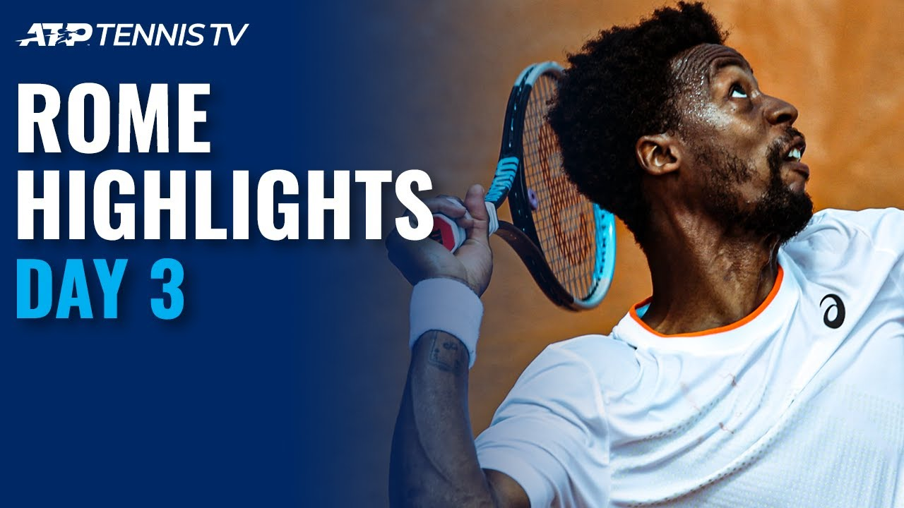 Djokovic Takes On Fritz; Monfils Returns, Berrettini In Action | Rome 2021 Day 3 Highlights