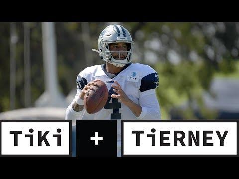 The Cowboys WON'T Find A Better QB Than Dak Prescott   Tiki + Tierney