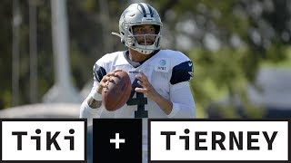 The Cowboys WON'T Find A Better QB Than Dak Prescott | Tiki + Tierney