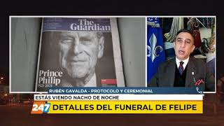 16/04/21 | NDN | DETALLES DEL FUNERAL DE FELIPE | GAVALDA