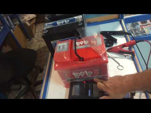 Проверка аккумулятора Topla тестером