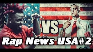RapNews USA #2 [Eminem vs. Tech N9ne]