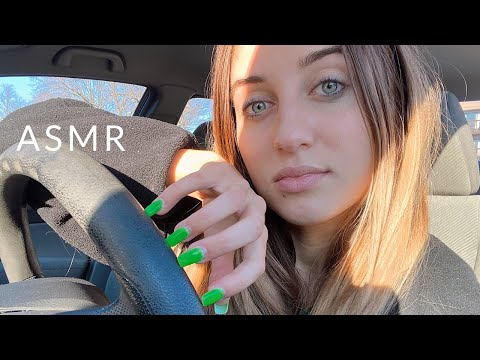ASMR In My Car | Tapping And Scratching