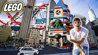 We went to an AMUSEMENT PARK made out of 50 MILLION LEGOS...